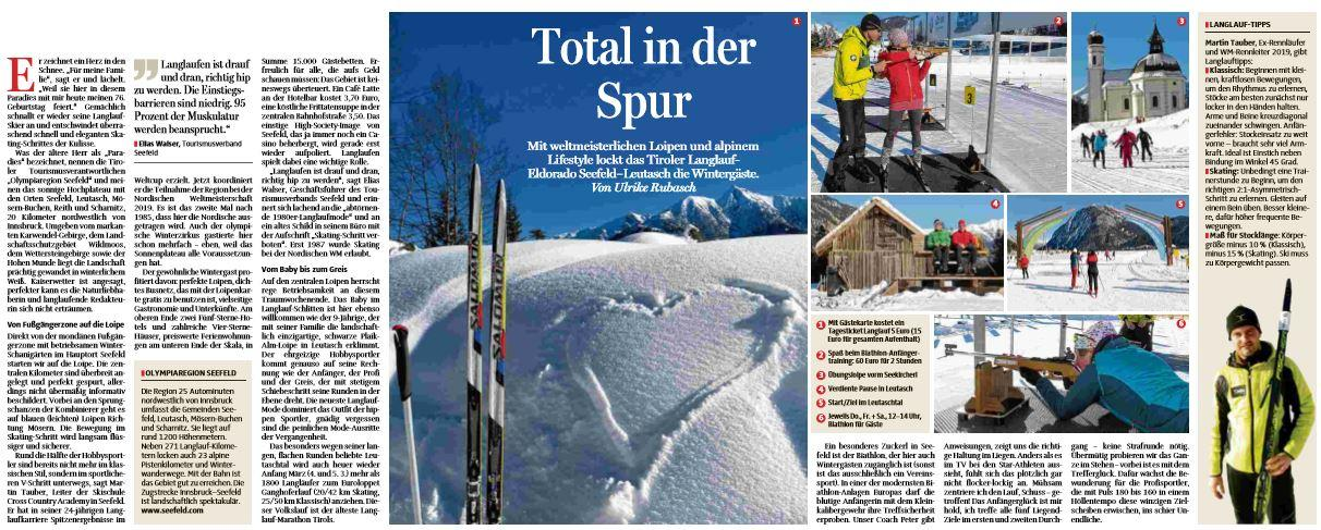 Total in der Spur