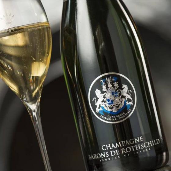 Rothschild mit Rahmen - Chanpagne Barons De Rothschild