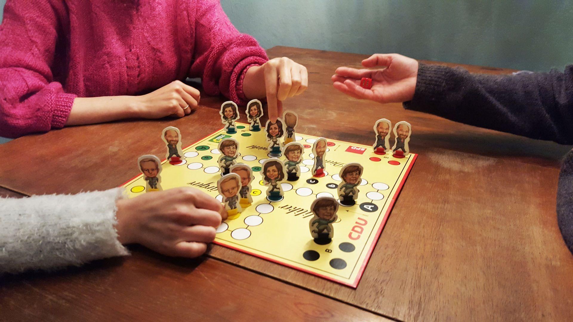 Politker ärgere dich nicht (Boardgame)
