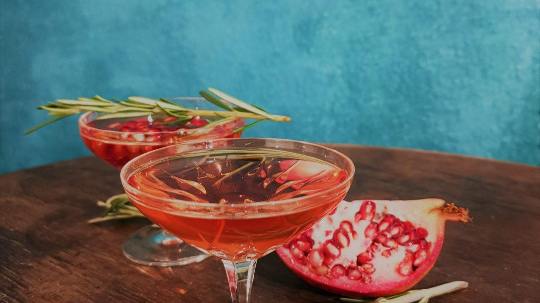 Granatapfel-Cocktails